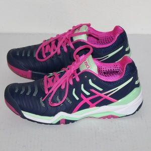 ASICS Womens Gel Resolution 7 'Tennis' Shoes
